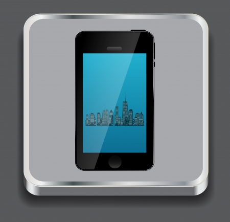 Vector illustration of apps icon Vector