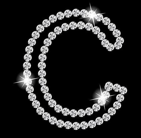 three dimensional shape: Diamond Alphabet illustration