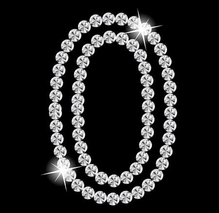 Diamond Alphabet illustration Stock Vector - 19929386