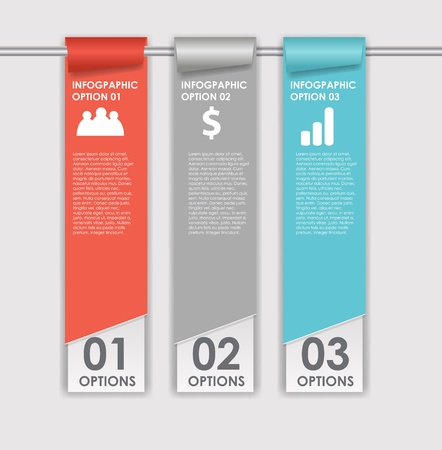 INFOGRAPHICS design elements illustration Vector