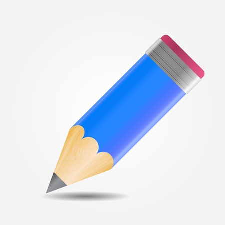Drawing and Writing tools icon illustration Vector