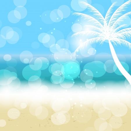 Summer holidays background. Vector