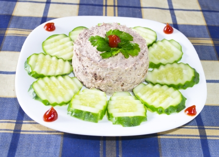 tuna with mayonnaise photo