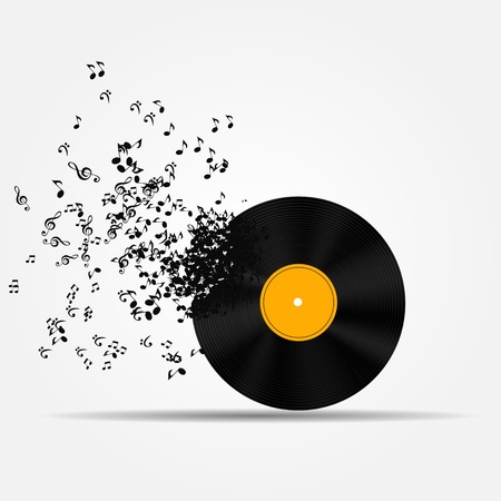Music icon illustration Vector