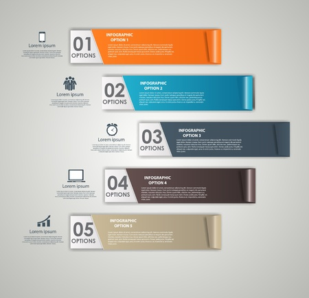 INFOGRAPHICS design elements illustration