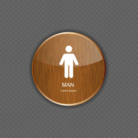 Man application icons vector illustration Stock Vector - 21878208