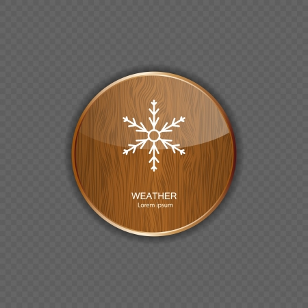tinted: Weather wood application icons