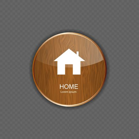 Home application icons Vector