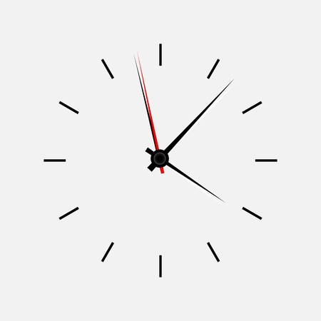 Icon watch vector illustration Stock Vector - 21878728