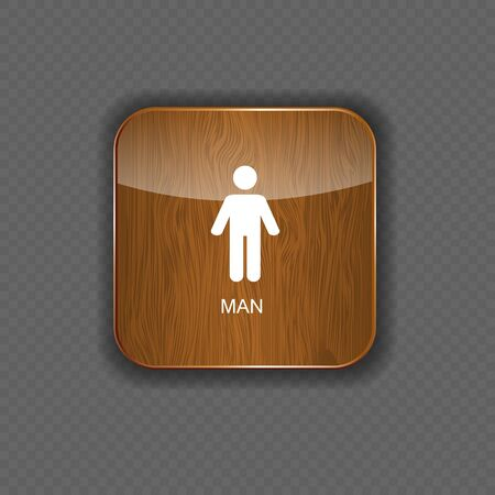 Man application icons vector illustration Stock Vector - 22258149