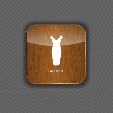 Fashion wood application icons vector illustration Stock Vector - 22258179