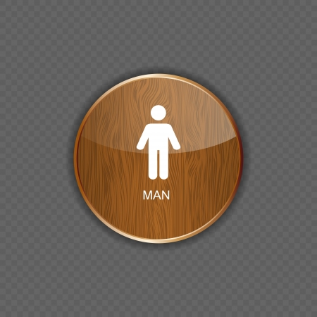 Man application icons vector illustration Stock Vector - 22258186