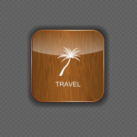 Travel application icons vector illustration Stock Vector - 22258729