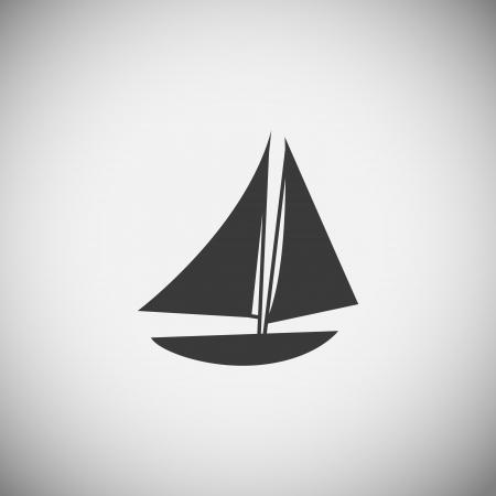 Sea wood  application icons vector illustration Stock Vector - 22258745