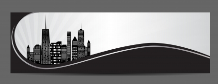 vector illustration of cities silhouette Stock Vector - 22473991