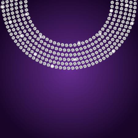 diamond background: Abstract beautiful diamond background vector illustration Illustration