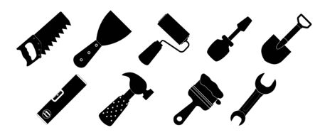 Different tools icon vector illustration set1 Vector