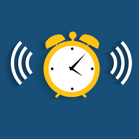 Modern Flat Time Management Icon for Web and Mobile Application Stock Vector - 26031071