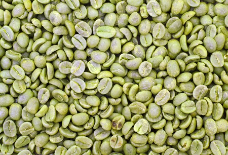 fat burning: Green Coffee Background