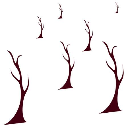 Autumn Tree Vector Illustration  Vector