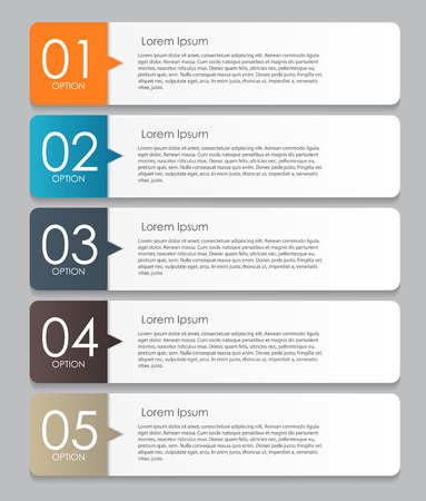 set design: Infographic Design Elements for Your Business Vector Illustration Illustration