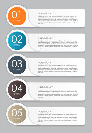 Infographic Design Elements for Your Business Vector Illustration Stock Illustratie
