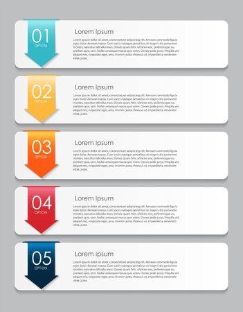 web element: Infographic Design Elements for Your Business Vector Illustratio