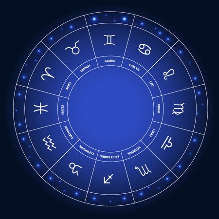 Set Of Symbol Zodiac Sign Vector Illustration Royalty Free