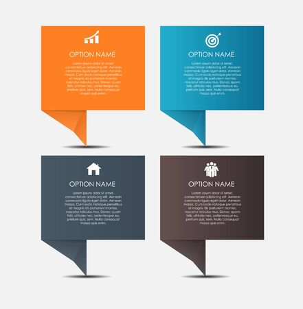 graphic presentation: Infographic Design Elements for Your Business Vector Illustration.
