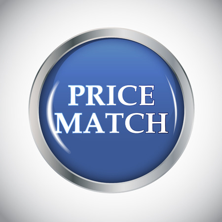 quality icon: Price Match Label Vector Illustration EPS10 Illustration