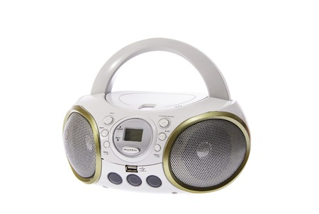 cd recorder: Portable MP3, CD, DVD Audio. Isolated