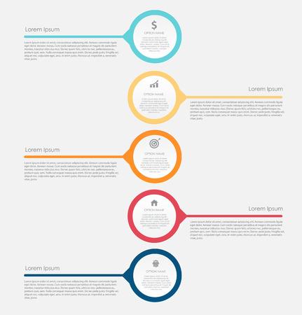 elements: Infografía elementos de diseño para su negocio Ilustración vectorial. Vectores