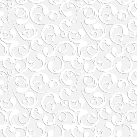 x mas parties: Floral Vintage Seamless Pattern Background Vector Illustration
