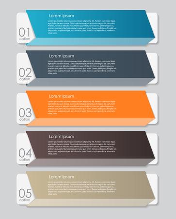 illustratio: Infographic Design Elements for Your Business Vector Illustratio