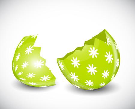 pasqua: Beautiful Easter Egg Vector Illustration