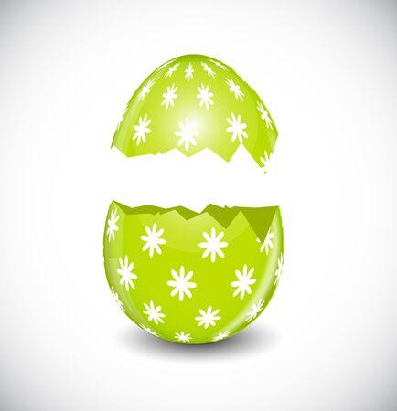 Beautiful Easter Egg Vector Illustration