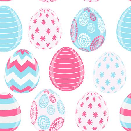 pasqua: Beautiful Easter Egg Background Vector Illustration Illustration