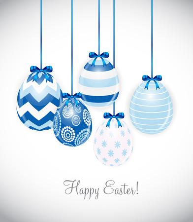 Beautiful Easter Egg Background Vector Illustration Illustration