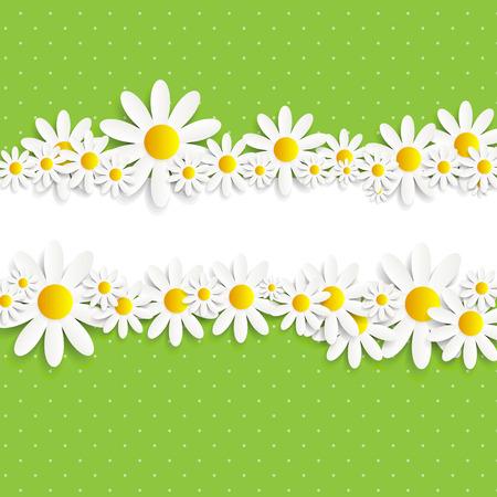 p�querette: Flora Daisyl conception Vector illustration