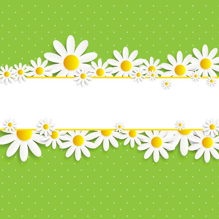 Flora Daisyl Design Vector illustration