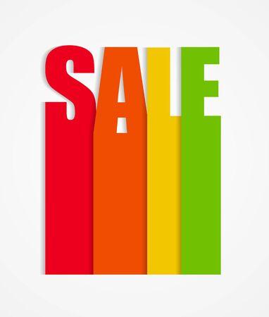 sale sign: Sale Sign Vector Illustration EPS10 Illustration