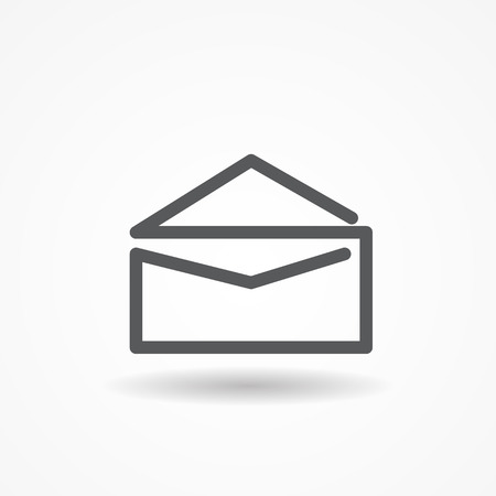 Mail Post Icon Vector Illustration EPS10 Vector