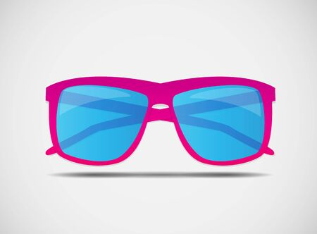 outdoor glamour: Sunglasses Icon Vector Illustration