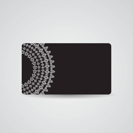 Abstract Beautiful Gift Card Design, Vector Illustration