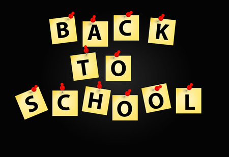 children only: Back to School vector Background