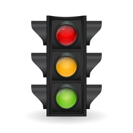 traffic light: Traffic Light Vector Illustration