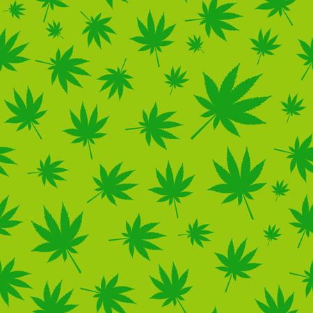 hashish: Abstract Cannabis Seamless Pattern Background Vector Illustratio