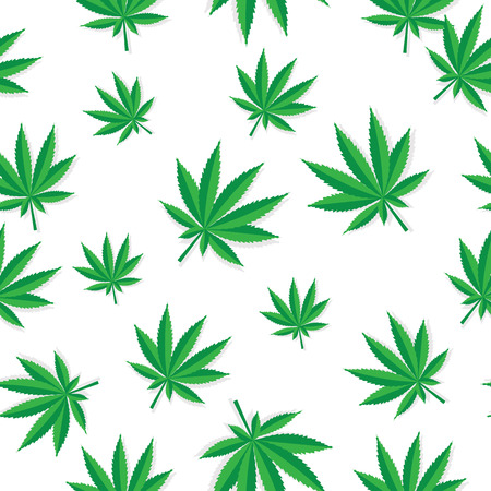 drug dealer: Abstract Cannabis Seamless Pattern Background Vector Illustratio