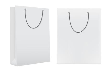 illust: Shopping Bag Template for Advertising and Branding Vector Illust