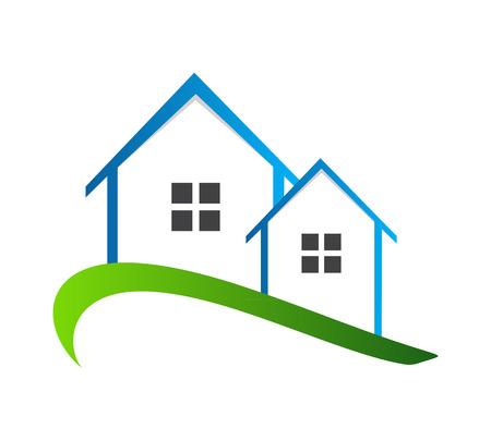 housing problems: Houses Vector Illustration Illustration